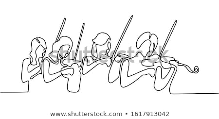 Stock photo: Stringed instrument