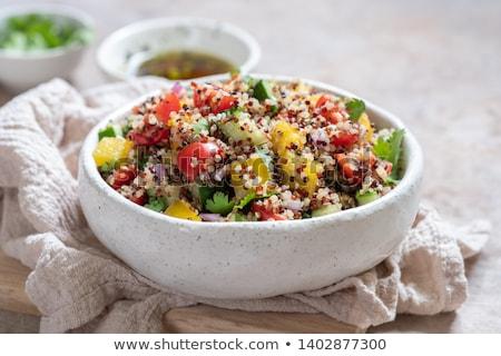 quinoa salad Stock photo © M-studio