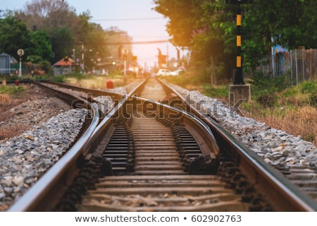 Railway junction  Stock photo © marekusz
