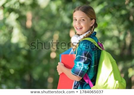 小さな · 子 · 幸せ · 学ぶ · 新しい - ストックフォト © stevanovicigor