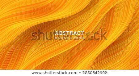 Orange Curvy Stripes Stock photo © ArenaCreative