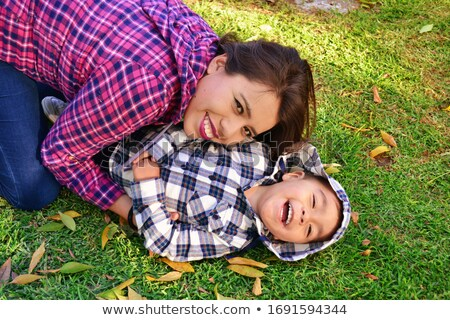 Happy mother with her sonny. Stock photo © d13