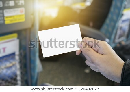 bilhete · máquina · ferrovia · seguir · brinquedo - foto stock © gewoldi