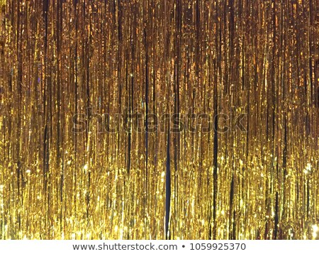 beautiful golden curtains stock photo © anna_om
