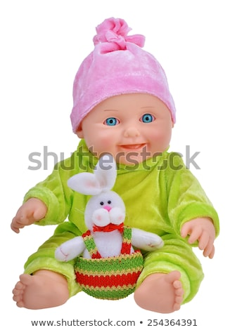 Antique Baby Doll isolated Stock photo © danny_smythe