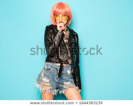 sensual · morder · criador · retrato · beautiful · girl - foto stock © Fisher