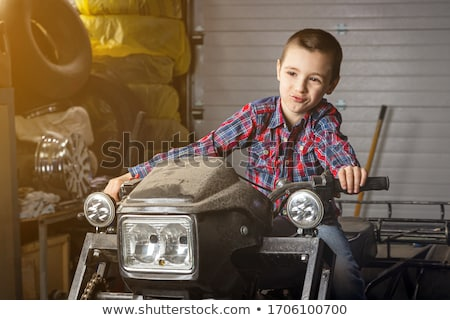 boy racer  Stock photo © OleksandrO