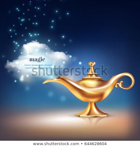 lamp of aladdin stock photo © oleksandro