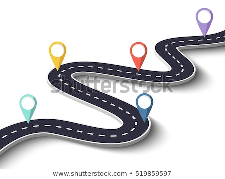 Asphalt Winding Road Stock photo © zhekos