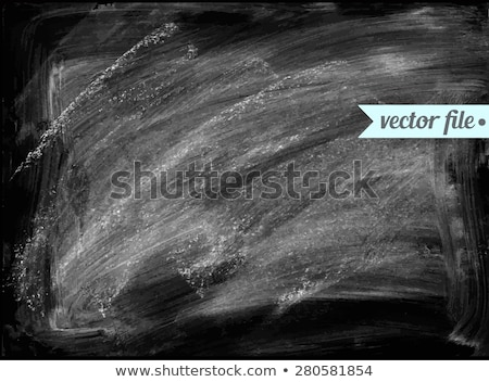 Blackboard with Chalk and Dust Stock photo © frannyanne
