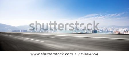Rodovia movimento dia ver carro estrada Foto stock © wime