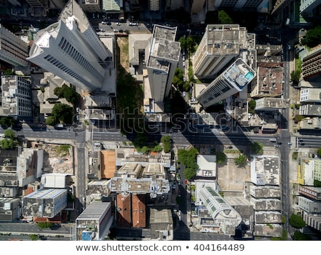 High above city in Tokyo Stock photo © Melpomene