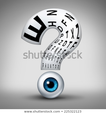 Optometry Questions Stock photo © Lightsource