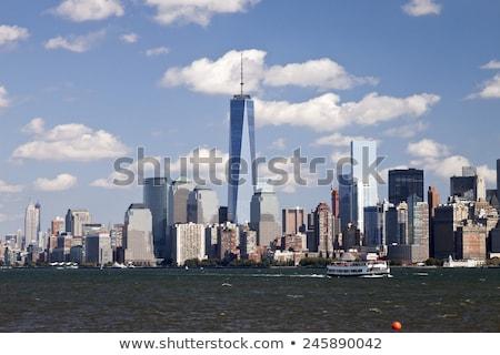 New · York · City · centrum · 2014 · skyline · namiddag - stockfoto © hanusst