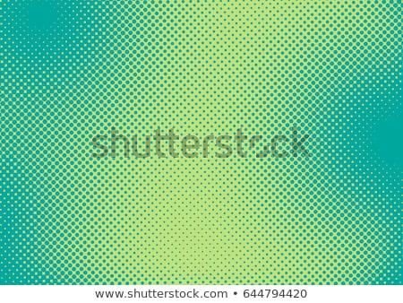 緑 ハーフトーン 青 黒 テクスチャ 背景 ストックフォト © redshinestudio