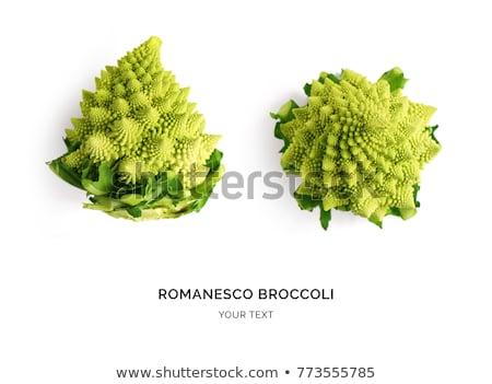 atış · brokoli · lahana · yeşil · sebze - stok fotoğraf © klinker
