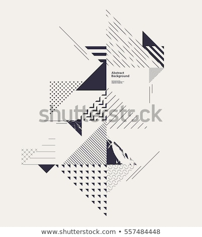 vector abstract triangle outline stock photo © m_pavlov