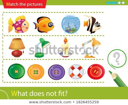 what does not fit game cartoon Stock photo © izakowski