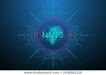 Nano orvosi technológia nanotechnológia gyógyszer csoport Stock fotó © Lightsource