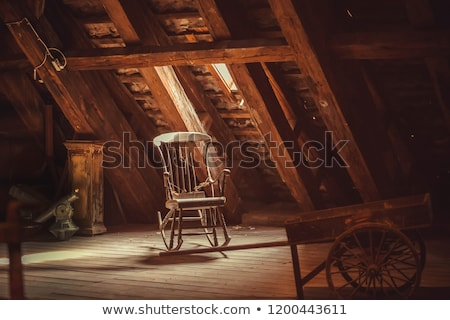 a chair in the attic Stock photo © lkpro