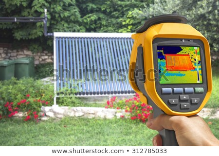 Recording Vacuum solar system With Thermal Camera  Stock photo © smuki