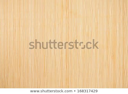 Bamboo Mat Background Stock photo © feverpitch