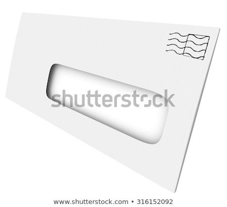 számla · boríték · üzlet · kék · posta · pénzügy - stock fotó © iqoncept