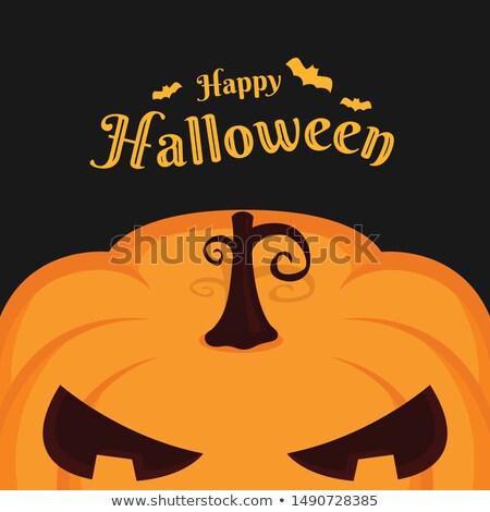 Happy Haloween Pumpkin Stock photo © More86