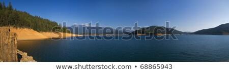 Lago Califórnia manhã panorâmico ver Foto stock © MichaelVorobiev