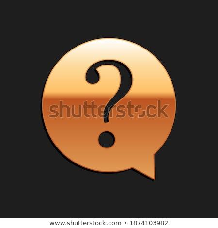 часто задаваемые вопросы вектора икона дизайна помочь Сток-фото © rizwanali3d