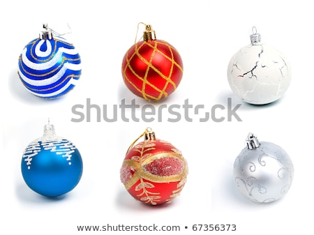 Noel Topları Süsleme Noel Stok fotoğraf © Fanfo