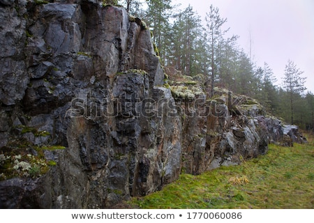 большой Гранит рок белый Сток-фото © stockfrank