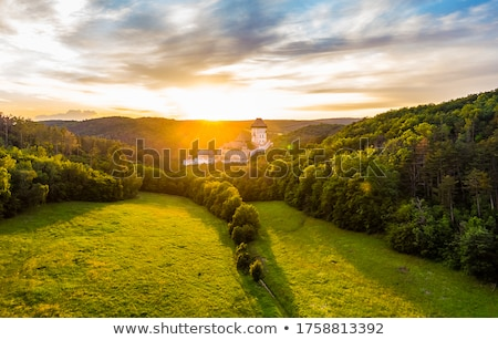 Stock photo: Relics of an ancient castle
