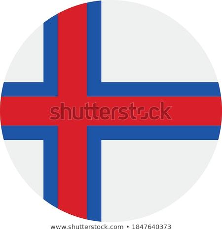ストックフォト: 島々 · フラグ · ボタン · テクスチャ · 世界 · 青