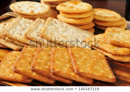 assorted crackers and snacks Stock photo © bernashafo