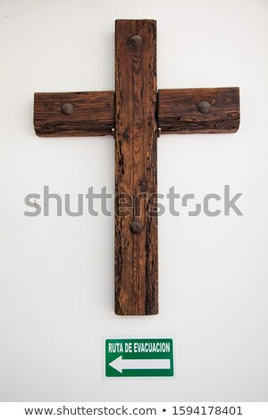 Direction signs on a wooden wall - Doubt or Hope Stock photo © Zerbor