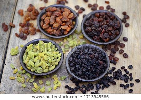 mazsola · kanál · étel · csoport · desszert · citromsárga - stock fotó © Digifoodstock