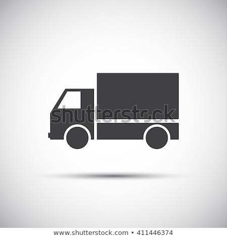 Simple vector pickup icon, illustration for your website, print and infographic Stock photo © kurkalukas