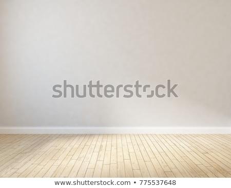 Wooden floor and wall Stock photo © fuzzbones0