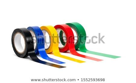 テープ · ロール · 孤立した · 白 - ストックフォト © serg64