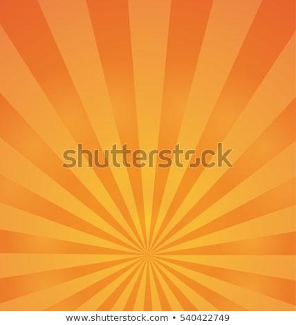 Güneşli poster arka plan tasarım uçan mektup benzer Stok fotoğraf © Lukas101