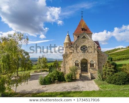 Templom építészet vidék történelem szőlőskert vallás Stock fotó © njaj