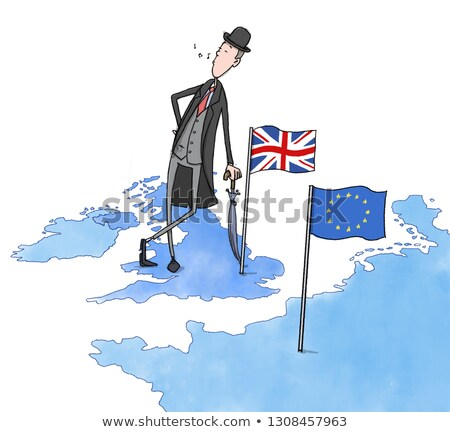 brexit concept flag Stock photo © SArts