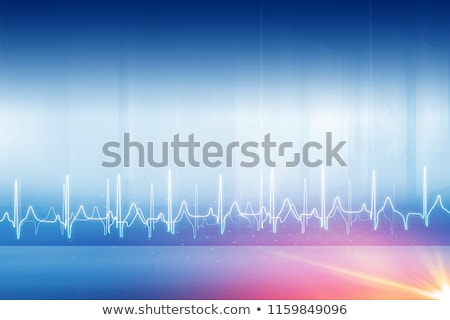 life line heartbeat medical background Stock photo © SArts