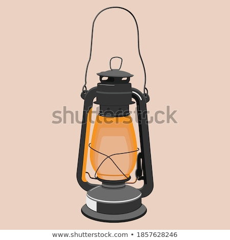 On and off lamps on the rusty background Stock photo © SwillSkill
