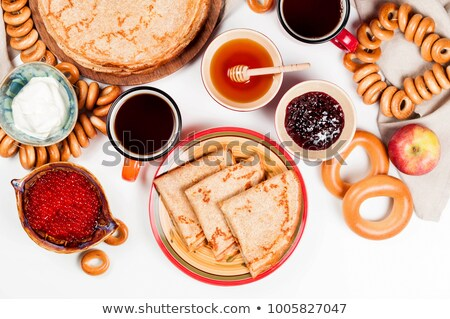 Caviar and crepes  Stock photo © user_11224430