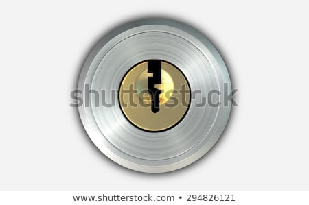Empty Slot With Key Stock photo © albund