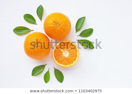 Sağlıklı taze portakal sulu göbek Stok fotoğraf © klsbear