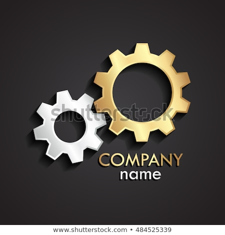 Machinery Equipment on Golden Gears. 3D Illustration. Stock photo © tashatuvango