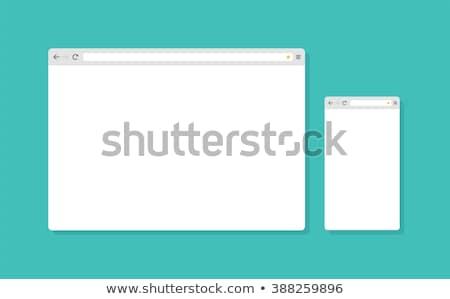proste · ikony · komputerowe · wektora · pytanie - zdjęcia stock © orson